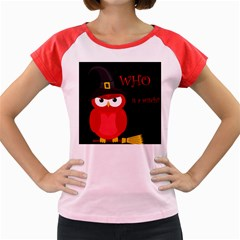 Who is a witch? - red Women s Cap Sleeve T-Shirt