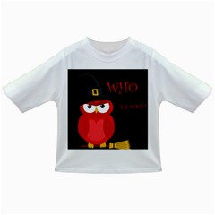 Who is a witch? - red Infant/Toddler T-Shirts