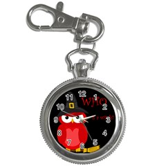 Who is a witch? - red Key Chain Watches