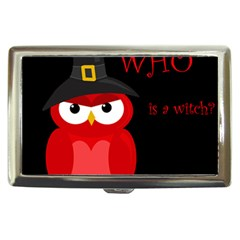 Who is a witch? - red Cigarette Money Cases