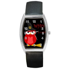 Who is a witch? - red Barrel Style Metal Watch