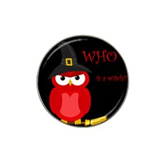 Who is a witch? - red Hat Clip Ball Marker