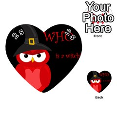 Who is a witch? - red Playing Cards 54 (Heart)