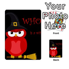 Who is a witch? - red Multi-purpose Cards (Rectangle)