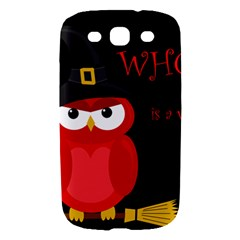 Who is a witch? - red Samsung Galaxy S III Hardshell Case