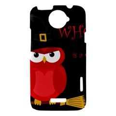 Who is a witch? - red HTC One X Hardshell Case