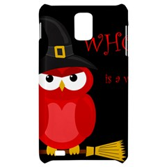 Who is a witch? - red Samsung Infuse 4G Hardshell Case