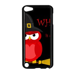 Who is a witch? - red Apple iPod Touch 5 Case (Black)