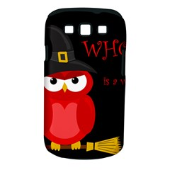 Who is a witch? - red Samsung Galaxy S III Classic Hardshell Case (PC+Silicone)