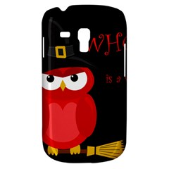 Who is a witch? - red Samsung Galaxy S3 MINI I8190 Hardshell Case