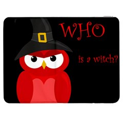 Who is a witch? - red Samsung Galaxy Tab 7  P1000 Flip Case