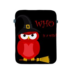 Who is a witch? - red Apple iPad 2/3/4 Protective Soft Cases