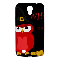 Who is a witch? - red Samsung Galaxy Mega 6.3  I9200 Hardshell Case