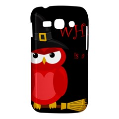 Who is a witch? - red Samsung Galaxy Ace 3 S7272 Hardshell Case