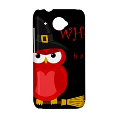 Who is a witch? - red HTC Desire 601 Hardshell Case