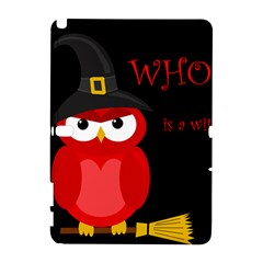 Who is a witch? - red Samsung Galaxy Note 10.1 (P600) Hardshell Case