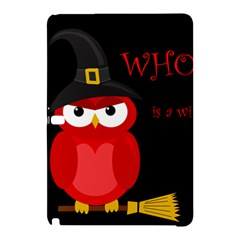 Who is a witch? - red Samsung Galaxy Tab Pro 12.2 Hardshell Case