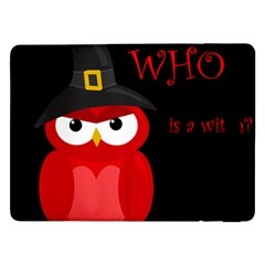 Who is a witch? - red Samsung Galaxy Tab Pro 12.2  Flip Case