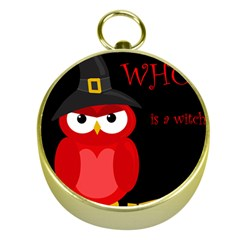 Who is a witch? - red Gold Compasses