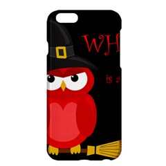 Who is a witch? - red Apple iPhone 6 Plus/6S Plus Hardshell Case