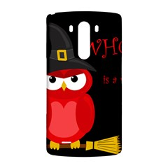 Who is a witch? - red LG G3 Back Case