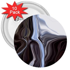Metallic and Chrome 3  Buttons (10 pack)