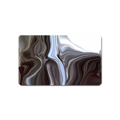 Metallic and Chrome Magnet (Name Card)