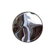 Metallic and Chrome Hat Clip Ball Marker (4 pack)