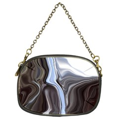 Metallic And Chrome Chain Purses (one Side)