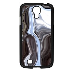 Metallic And Chrome Samsung Galaxy S4 I9500/ I9505 Case (black)