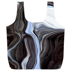Metallic and Chrome Full Print Recycle Bags (L)
