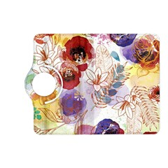 Watercolor Spring Flowers Background Kindle Fire HD (2013) Flip 360 Case