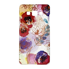 Watercolor Spring Flowers Background Samsung Galaxy A5 Hardshell Case