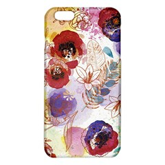Watercolor Spring Flowers Background iPhone 6 Plus/6S Plus TPU Case