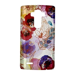 Watercolor Spring Flowers Background LG G4 Hardshell Case