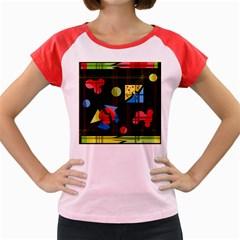 Playful day Women s Cap Sleeve T-Shirt