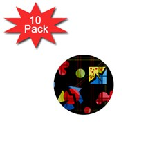 Playful day 1  Mini Magnet (10 pack)