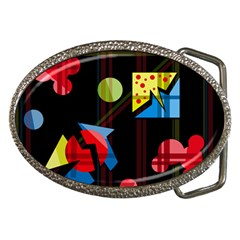 Playful day Belt Buckles