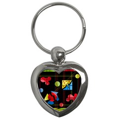 Playful day Key Chains (Heart)