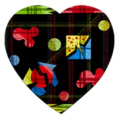 Playful day Jigsaw Puzzle (Heart)