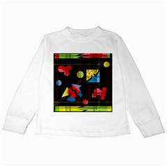 Playful day Kids Long Sleeve T-Shirts