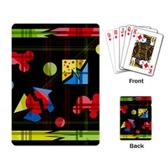 Playful day Playing Card