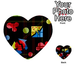 Playful day Multi-purpose Cards (Heart)
