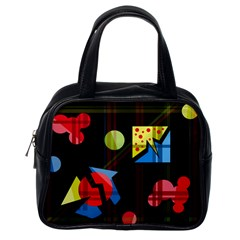 Playful day Classic Handbags (One Side)