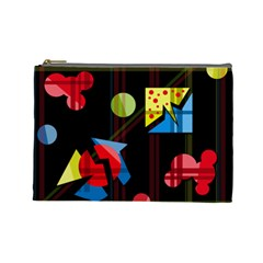 Playful day Cosmetic Bag (Large)