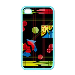 Playful day Apple iPhone 4 Case (Color)