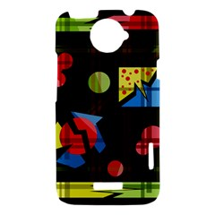 Playful day HTC One X Hardshell Case