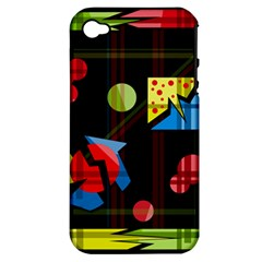 Playful day Apple iPhone 4/4S Hardshell Case (PC+Silicone)