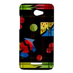 Playful day HTC Butterfly X920E Hardshell Case