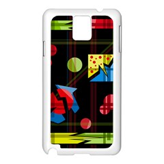 Playful day Samsung Galaxy Note 3 N9005 Case (White)